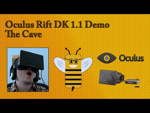 Oculus Rift Demo 3 - The Cave [German]