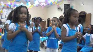 Igreja Assembléia de Deus Vilela 2,Coreografia Jayane 5 letrinhas.