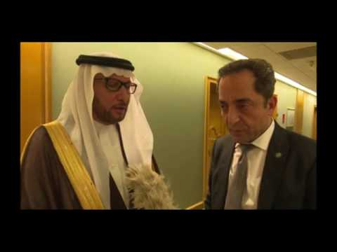Niger President , receives in Makkah, the Secretary General of OIC