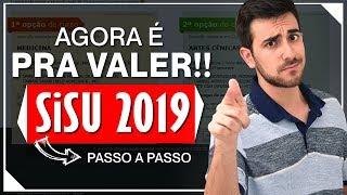 SISU PASSO A PASSO: Dicas para ACESSAR e usar melhor o SITE DO SISU 2019 | Umberto Mannarino