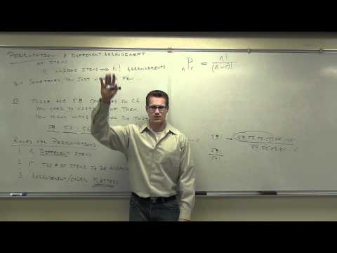 Statistics Lecture 4.7: Fundamental Counting Rule, Permutations and Combinations