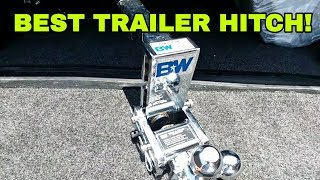 BEST TRAILER HITCH! Totally awesome B&W 3-way Tow N Stow!