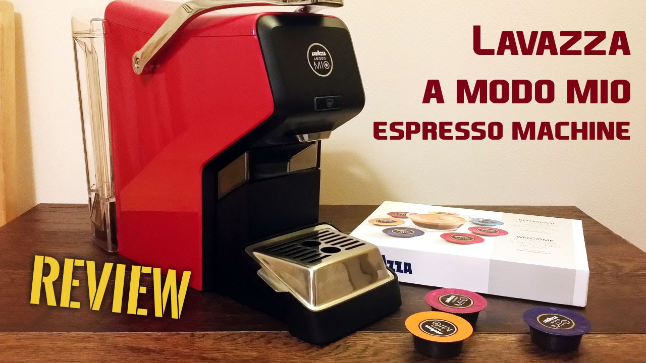 Elegant Lavazza A Modo Mio Espresso Coffee Machine Review   YouTube