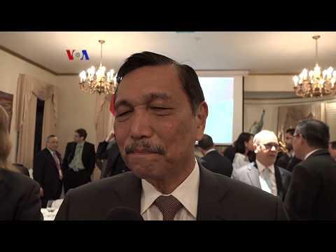 Di New York, Menko Maritim Jamin Iklim Investasi Indonesia pada Investor AS