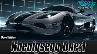 Need For Speed No Limits: Koenigsegg One:1 (MAXXED OUT + Tuning [All Black Edition Parts])