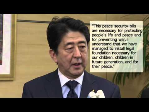 Japan parliament passes security bills