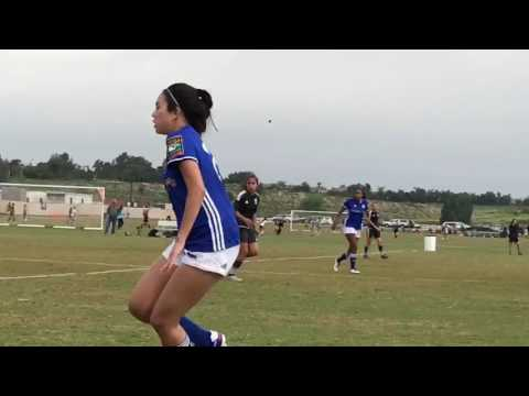 Girls fight in soccer intense