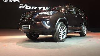 2015 Toyota Fortuner World Premier : เปิดตัว โตโยต้า ฟอร์จูนเนอร์ใหม่ [ครั้งแรกในโลก]