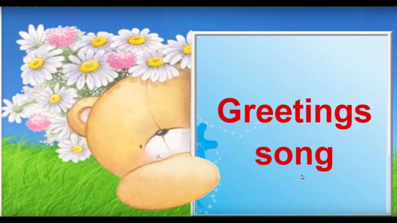 Greetings song learn english youtube greetings song learn english m4hsunfo