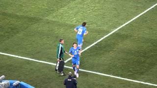 Italia - Slovakia - Entrée Pirlo.MOV
