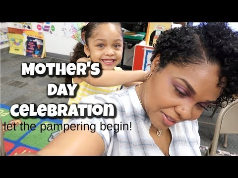 MOTHER'S DAY CELEBRATION AT HER SCHOOL | TEACHERS APPRECIATION DAY | VLOG