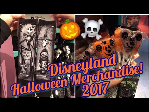 disneyland halloween merchandise shopping spree merch search 2017 dca
