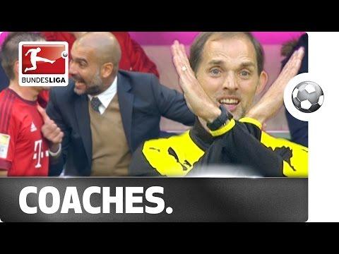 VIDEO – Guardiola vs Tuchel: sfida tra due maestri del gesticolare