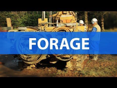 Forage d'eau et géothermie, Vendée (85) Morand Forages