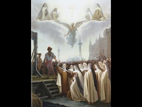 The Jerusalem Temple & the Carmelite Martyrs of Compiegne (Feast day 17-July)