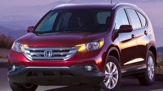 2013 Honda CR-V Start Up and Review 2.4 L 4-Cylinder