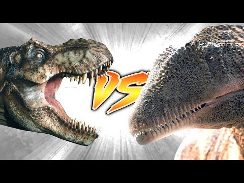 T. rex VS Carcharodontosaurus (Who Would Win?)