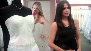 David's Bridal Behind the Scenes with Operation Dream Dress Winner in SPANISH