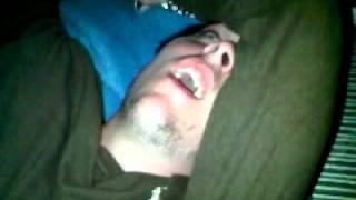 NAPA totally snoring zombie guy