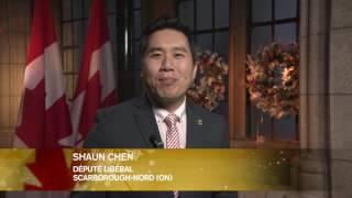 MP Shaun Chen - Greetings on Holiday Season - Dec 21, 2016
