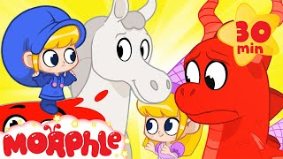 The Horse and the Dragon - Mila and Morphle Fairytales | Cartoons for Kids | @Morphle TV