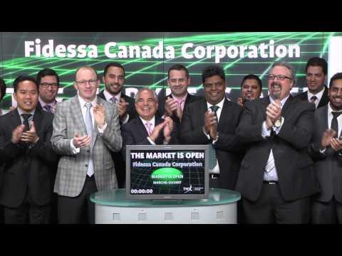 Fidessa Canada Corporation opens Toronto Stock Exchange, May 28, 2015