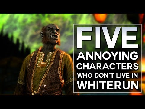 Skyrim - Top 5 Annoying Characters Who Don't Live in Whiterun thumbnail