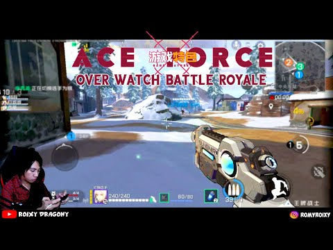 Overwatch Battle Royale ini mah 😂 ACE FORCE (CN) Battle Royale Android Gameplay - 동영상