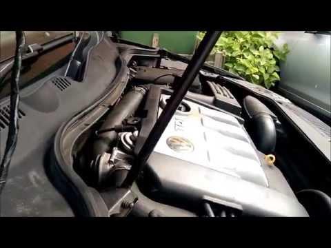 Part-1. Bad rod big end bearing engine knocking sound after oil pump failure VW Passat B6 1.9TDI