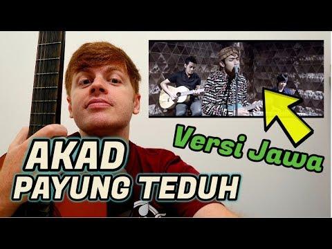 AKAD Payung Teduh Versi Jawa (Reaction Video)