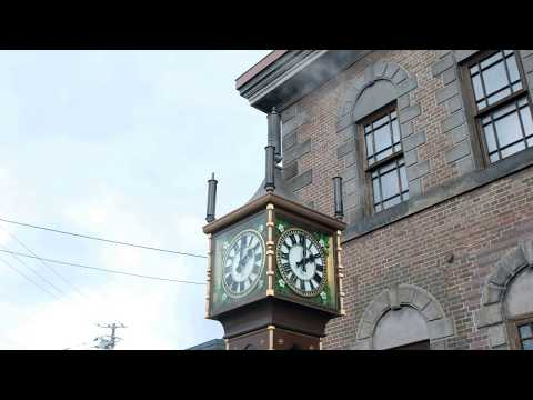 Otaru Orgel Steam Clock