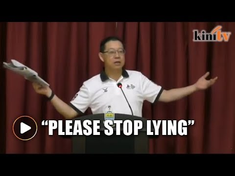 Don't use me to promote yourself, Guan Eng tells Wee Ka Siong