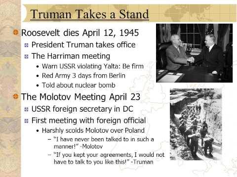 Cold War History Sample Lecture: American View of Cold War