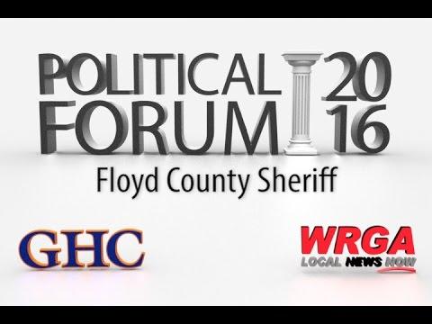 Political Forum 2016 - Floyd County Sheriff