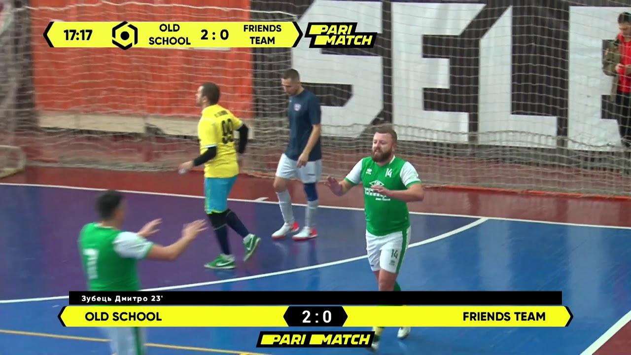 Огляд матчу   Old Sсhool 4 : 1 Friends Team
