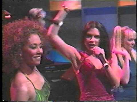 Spice Girls - Spice Up Your Life Live At The Tonight Show With Jay Leno 1997.12.5