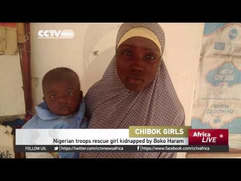LIVE: Nigerian troops rescue girl kidnapped by Boko Haram