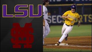 #17 LSU vs #3 Mississippi State SEC Tournament 4th round | College Baseball Highlights
