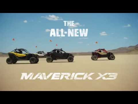 Новый BRP Maverick X3  2017 модельный год.