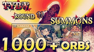 🔥Bleach Brave Souls: 1000+ ORBS on TYBW round 11( Nanao,Gremmy and Lille)!🔥