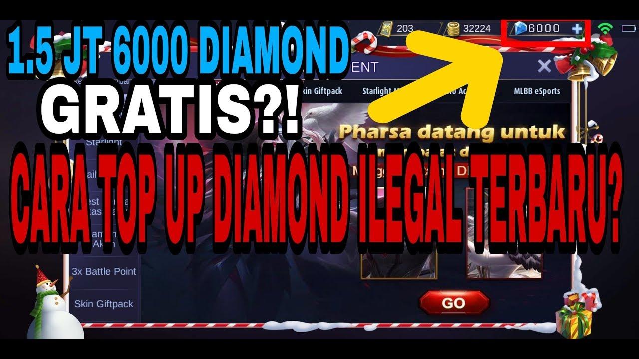 Cara Top Up Diamond Ilegal Mobile Legend Indonesia Terbaru Youtube