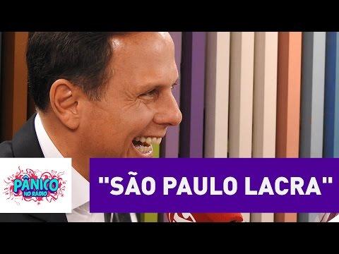 """Amanda e Evandro ensinam a palavra """"lacra"""" para João Doria   Pânico"""