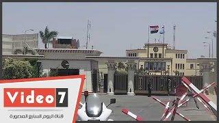 استعدادات مطار ألماظة لخروج جثامين شهداء الواجب فى سيناء