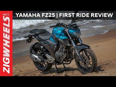 Yamaha FZ25 | First Ride Review | ZigWheels.com