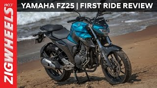 Yamaha FZ25 | First Ride Review | ZigWheels.com