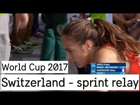 World Cup 2017 - Switzerland Sprint Relay