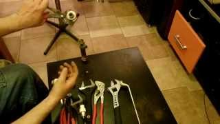 Инструменты сантехника, мой тревожный чемоданчик