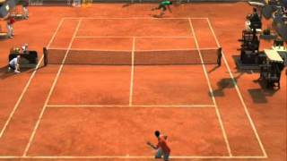 Virtua Tennis 2009 Djokovic vs Nadal PC Gameplay Very Hard