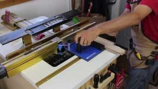 Rockler Rail Coping Sled In Action