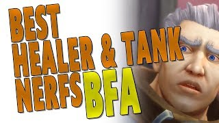 BfA BEST HEALER & TANK NERFS INCOMING! Uldir Raid & Mythic+ Top Spec Discussion | Battle for Azeroth